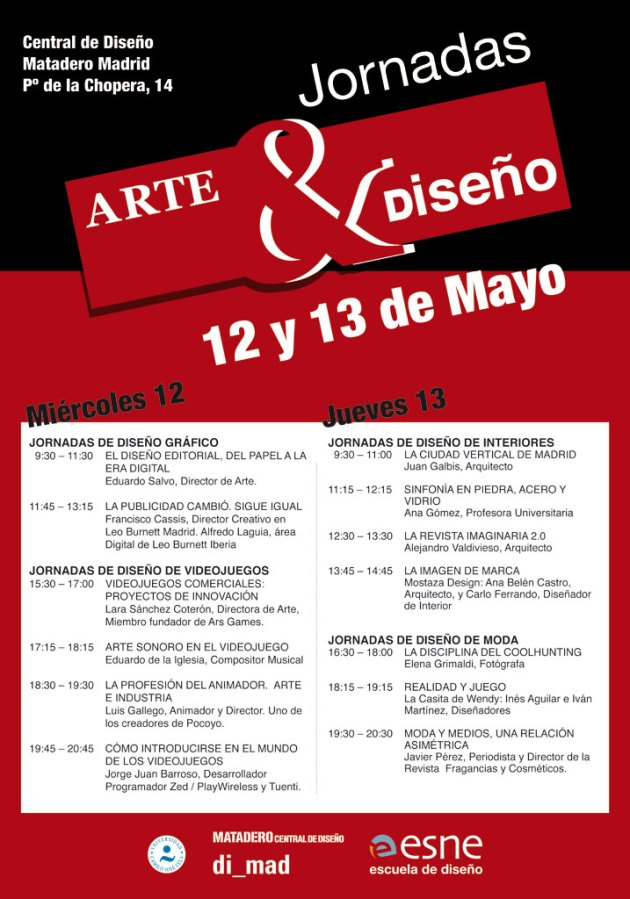 Jornadas Arte & Diseño ESNE